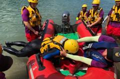 桃園防溺水 聯合水域救援訓練