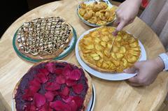 影/九如農會推廣新興果樹黃金山竹 研發特色水果披薩