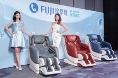 FUJI摩術椅「撥感指壓」就像真人 買再送空氣清淨機