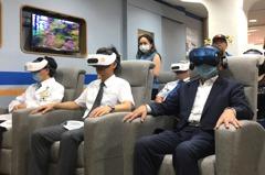 北醫附設新莊悅心社區長照機構 引進宏達電VR設備