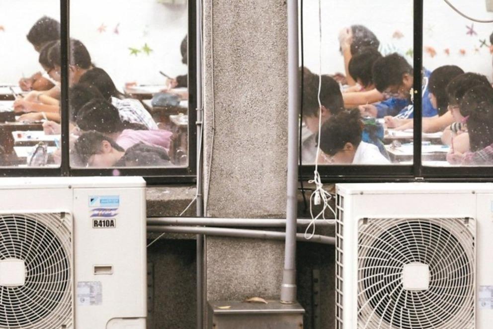 綠委調查屏東學校冷氣狀況 籲設太陽能板補電費