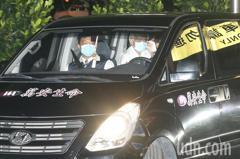 前總統李登輝辭世 遺體在車隊護送至榮總懷遠堂