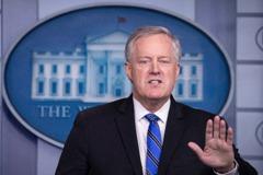 白宮幕僚長:美國總統大選如期11月3日舉行