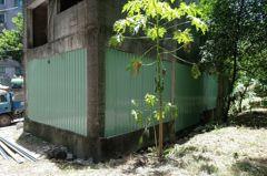 新莊荒廢20年「池塘鬼屋」 市府抽乾積水、封閉出入口