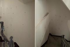 預售屋交屋前場勘牆壁上驚見數小洞 內行網曝:只能撐3年