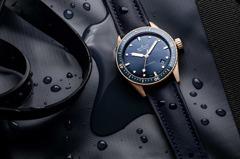 水下的生猛有力 寶珀湛藍Bathyscaphe深潛器黃金款