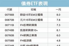 新興債ETF 績效亮眼
