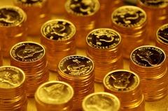 金價反轉下跌 黃金ETF狂跌