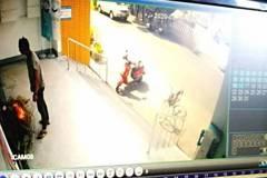 街友在活動中心燒雜物、砸花台 台南警方介入調查