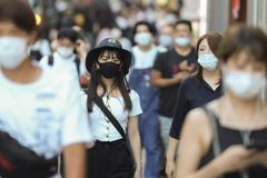 日本東京新增256人染疫 重症患者略增4例