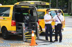 身障者不怕搭不到復康巴士 北市結合通用計程車增運能