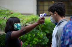 全球新高! 印度單日激增7.8萬例確診