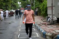 印度8月近200萬人染新冠肺炎 全球單月新增最多