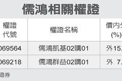 全民權證/儒鴻 挑逾四個月