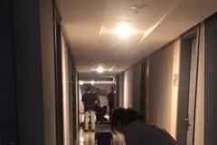 中和青年社宅凌晨突漏水 住戶抱怨:漏水3小時止不住