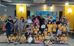 21舉辦社區『童』樂會 小小房仲體驗活動萌翻全場