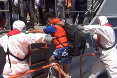 接受日本委託 海巡艦遠赴吐瓦魯協助受困日僑撤離抵台