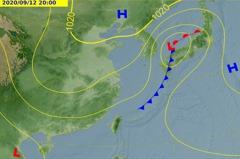 明又有鋒面通過北部挾雨勢 是否生成颱風氣象局這樣回