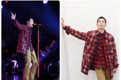 蕭敬騰身上的法蘭絨襯衫要價近45萬元!施華洛世奇水晶加持貴氣逼人