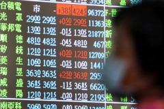 台積電除息行情失靈 台股跌104點收12,872