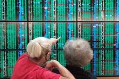 台股跌31點收12,232點 周線長黑