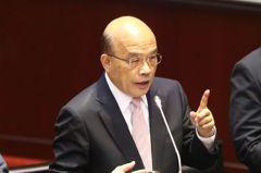 藍營推台美復交公決案 蘇貞昌:台美在國民黨執政斷交