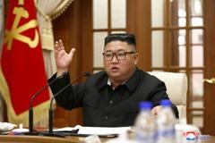 金正恩主持政治局會議 未提及南韓公務員被殺害事件