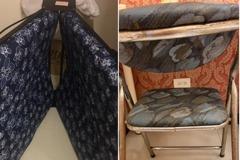 驚嚇!住一晚2300 宜蘭民宿傢俱床墊讓人傻眼 網:是凶宅風?