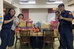 萬華警中秋送暖 捐贈育幼院童愛心食材
