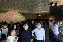 陳其邁參觀台灣設計展 稱讚是歷年來最有創意的一次