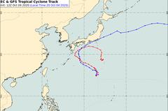 路徑大轉彎?昌鴻颱風國慶擾台還是撲日 氣象專家:時間還久言之過早