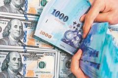 外資賣股、台股大跌 新台幣連三貶收28.96元