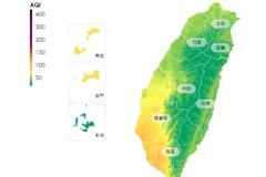 空氣品質預報 高屏紅色警示宜減少戶外活動