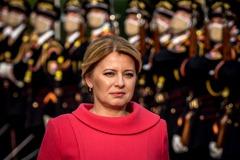 曾挺訪台捷克議長 斯洛伐克總統再讓華為碰釘子