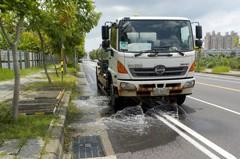 台南迎古都馬拉松賽 環保局加強洗街維護空品