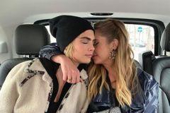 歐美年輕女藝人感情「雙修」一會兒愛男、一會兒又愛女