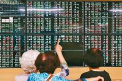 台股本週下跌136點 光電類指數表現弱勢