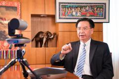 印度電視台專訪吳釗燮 大陸跳腳批公然挑釁