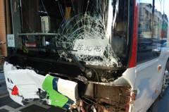 影/監視器曝光!中鹿客運司機稱「沒煞車」 連撞8車釀5人傷