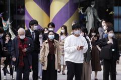 日本東京單日新增124例 累計病例破3萬