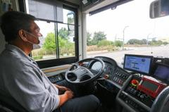 水湳自駕巴士遇障礙自動煞停 試乘體驗11日截止