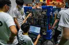 中科舉辦機器人競賽 選手表現看到培育成果