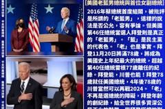 陳水扁:拜登年齡創紀錄 鼓舞全世界很多資深公民