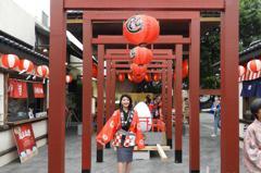 日本傳統祭典搬到台灣 桃園蛋寶不老村「元氣祭」開幕