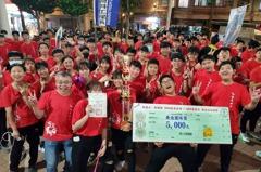 龜山創意踩街嘉年華 龍華科大獲頒最佳人氣與團隊獎