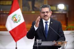 不到一周就辭職!秘魯新總統梅里諾上任六天下台