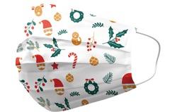 「耶誕風口罩」網購熱搜單周增1倍 LED發光口罩買氣狂飆
