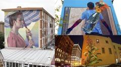 凡爾賽還不夠美! 世界級大師用10面「狂野壁畫牆」活化老區