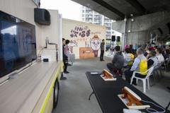 竹市移動餐車、歡唱車深入社區 加強防疫長者安心利用