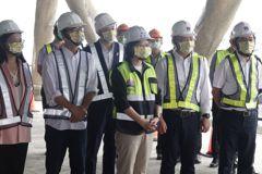蔡總統訪高雄亞灣計畫 稱讚這個計畫不錯